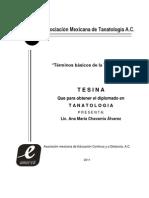 37 Terminos Basicos de La Tanatologia