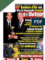 LE BUTEUR PDF du 18/12/2012