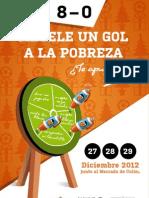 Métele un gol a la pobreza 2012