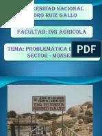 PROBLEMATICA DE LA INFRAESTRUCTURA DE RIEGO