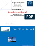 Aero Office365 Portal Presentation