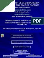 Competencia Cognitiva XIII Conferencia CIAEM[1]
