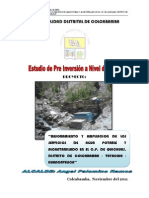 Perfil Agua Potable Colcabamba