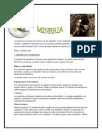 Mineria en el Ecuador