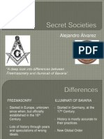 Diferencia entre Masonería y Illuminati