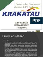 Peralatan Pembuatan Baja Di PT Krakatau