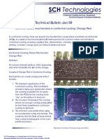 Bulletin Jan 09 Conformal Coating Failure Mechanisms Orange Peel