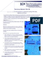 Bulletin Feb 09 Conformal Coating Failure Mechanisms Pinholes Bubbles and Foam