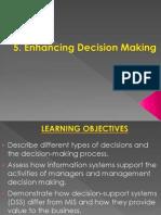 7830 BIS 05 Decision Making