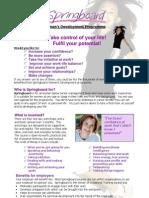 Springboard Women's Development Programme Oxford 09