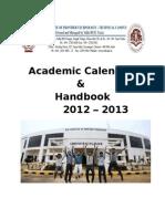 SIFT Academic Calendar 2012-13(FINAL)