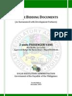 PBD Passenger Vans