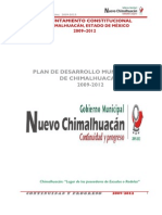 Plan Desarrollo Municipal 2009-2012
