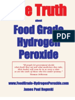 TheTruth About Food Grade Hydrogen Peroxide H2O2 by James Paul Roguski