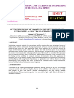 Optimum Design of Automotive Composite Drive Shaft