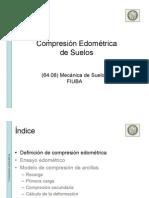 06a - Compresion edometrica
