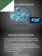 MICOSIS OPORTUNISTAS