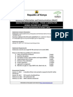 Konza City EOI for Master Delivery Partner 2