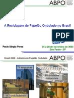 A Reciclagem de Papelão Ondulado no Brasil