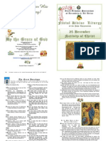 2012 - 25 Dec - Festal Divine Liturgy of St John Chrysostom - Nativity of Christ