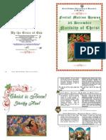 2012 - 25 Dec - Nativity Matins Hymns