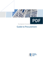 EIB procurement rules 2011 version