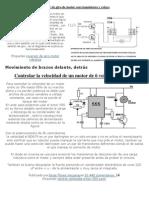 Control de Giro de Motor Con Un Transistor y Un Relay