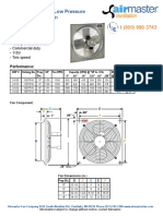 Low Pressure Direct Drive Wall Fan Model EPR