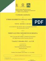Manifesto Cerimonia Conclusiva Corso