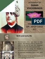 Biography on Swami Vivekanand