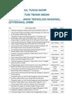 daftar TA