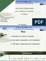 Cadre juridique et règlementaire de l'assurance Automobile