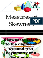 Measure of Skewness
