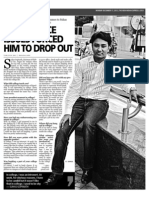 Indian Express - Dropout Story - Suhas Gopinath