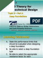 Bridge LRFD Theory Deep Foundations