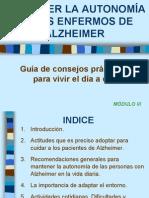 ALZHEIMER MÓDULO 3