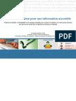 Guide De Rédaction Pour Une Information Accessible