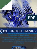 UBL Banking Ppt
