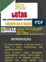 Cotas Nas Universidades Brasileiras