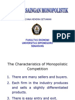 12. Pasar Persaingan Monopolistik