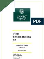 Investigación vino desalcoholizado en Talca