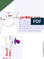 2012 Snowman Soup Kit