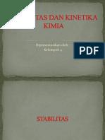 Stabilitas Dan Kinetika Kimia