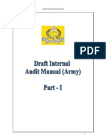 Army Local Audit Manual (Part I & II)