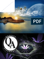 Quality Assurance- Continuous Quality Improvement & Standard