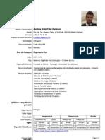 CV Engenheiro Civil
