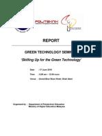 Report Green Tech