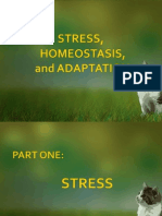 Stress, Homeostasis and Adaptation