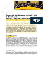 Propuestas Código Civil
