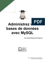 Administrez vos bases de données avec MySQL